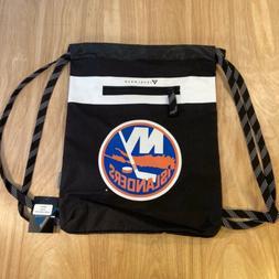 NHL NEW YORK ISLANDERS DRAWSTRING BAG / CINCH BAG LEVELWEAR