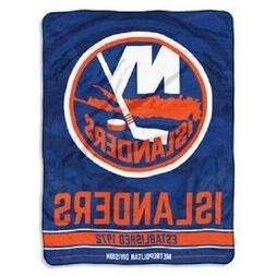NHL New York Islanders Large Ceiling Silk Throw Blanket Brea