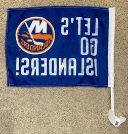 """NHL New York Islanders """"Lets Go Islanders"""" Car Clip-on W"""