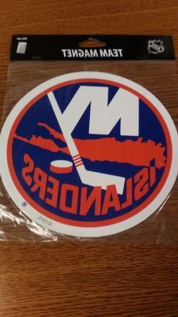 NHL NEW YORK ISLANDERS MAGNET NEW IN PACKAGE CAR MAGNET NICE