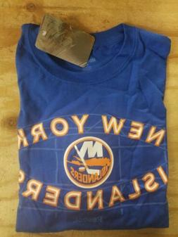 Reebok NHL New York Islanders Primary Logo T-Shirt - Blue -