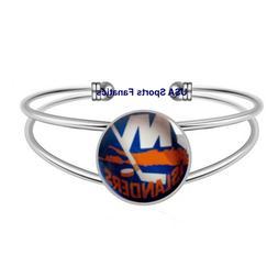 NHL - New York Islanders Team Logo Adjustable Bangle Bracele