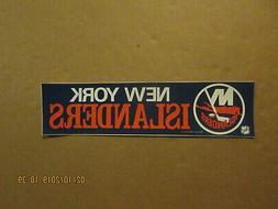 NHL New York Islanders Vintage Circa 1980's ASCO,INC. Logo H