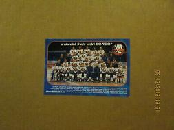 NHL New York Islanders Vintage Circa 1997-98 Team Photo Hock
