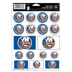 "NHL New York Islanders Vinyl Sticker Sheet, 5"" x 7"""