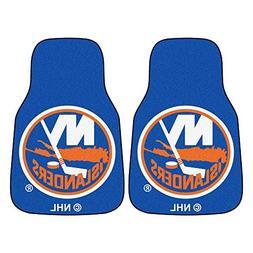 NHL New York Islanders 18 x 27 - 2 Piece Front Car Mats