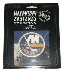 NHL New York NY Islanders Hockey Team Drink Coasters Set of