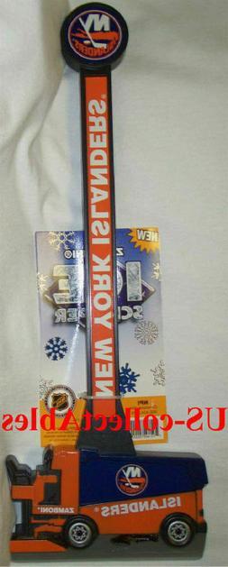 NHL New York NY Islanders Hockey Zamboni Ice Scraper Rare Sp