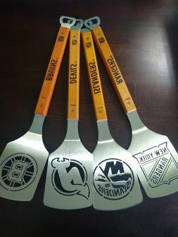 NHL Stainless Steel Spatula Grilling BBQ  tools Sportula  bo