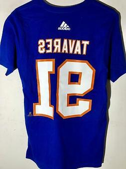 adidas  NHL T-Shirt New York Islanders John Tavares Blue sz