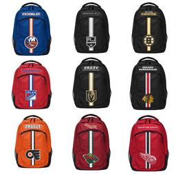 NHL Team Color Logo Action Backpack - Pick Team