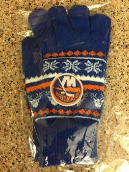 NIP NHL New York Islanders Winter Gloves SGA 12/21/19
