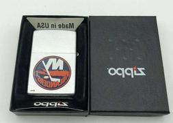 Retired NHL NY Islanders Zippo Lighter