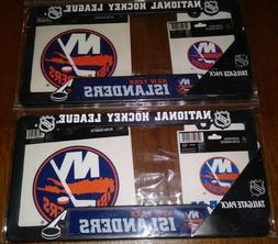 SET OF 2 New York ISLANDERS Car License Plate Frames Tailgat