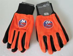TWO  PAIR OF NEW YORK ISLANDERS, UTILITY GLOVES FROM FOREVER